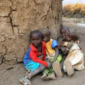 Masai children — Stock Photo