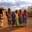 Masai children — Stock Photo #9659473