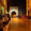 Augustus arch in Rimini, Italy - Zdjcie stockowe