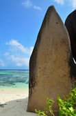 Tropical beach on Seychelles island — Foto de Stock