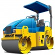 Double road roller — Stock Vector