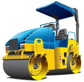 Double road roller — Stock Vector