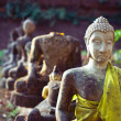 Buddhist statues - Stock Photo