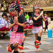 Dances of hill tribe — Stockfoto