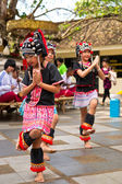 Dances of hill tribe — Stock Photo