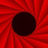 Red diaphragm — Stock Photo