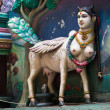 Hindu sacred cow - Stock Photo
