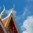 Roof of buddhist temple — Stock Photo #10574546