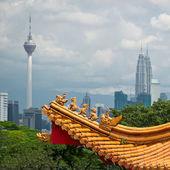 Kuala Lumpur cityscape — Stock Photo