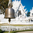 Bell in white temple — Stock Photo #10616089