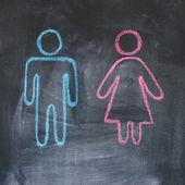 Gender figures — Stock Photo