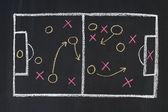 Sports strategy — Stock Photo