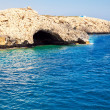 Sea Caves in Ayia Napa, Cyprus — Stock Photo