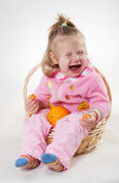 The crying child — Stock Photo