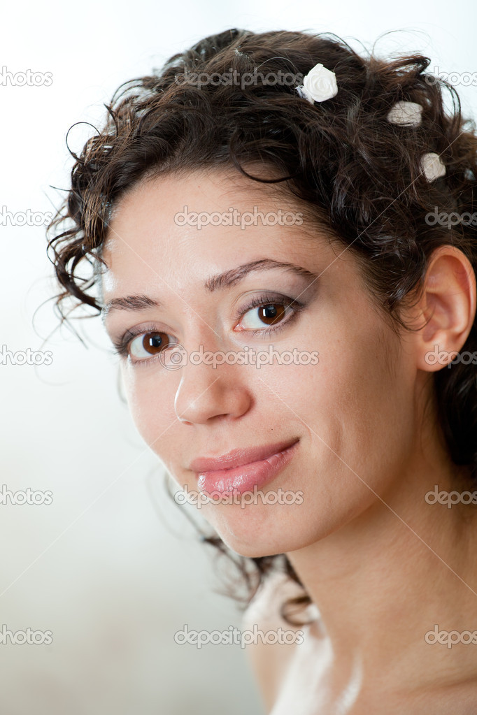 The elegant caucasian young girl. — Stock Photo #9885069