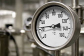 Industrial thermometer — Stock Photo