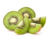 Kiwi fruit sliced segments — Stock Photo