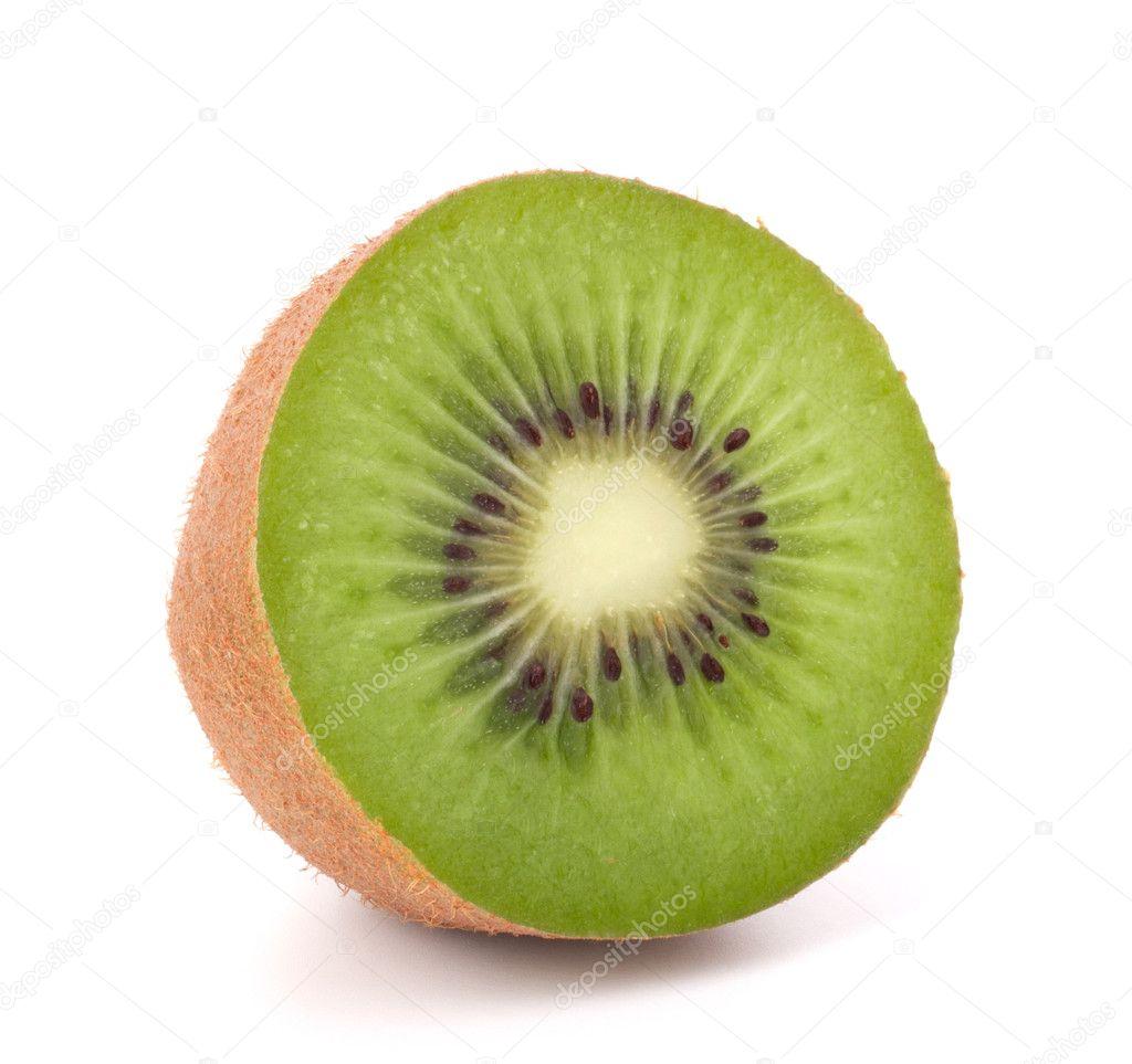 One kiwi fruit half — Stock Photo © natika #10563962
