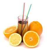 Suco de frutas cítricas — Foto Stock