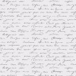Seamless abstract handwritten text pattern — Imagens vectoriais em stock