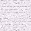 Seamless abstract handwritten text pattern — Stockvectorbeeld