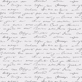 Seamless abstract handwritten text pattern — 图库矢量图片