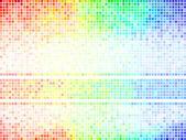 Multicolor abstracte tegel achtergrond. vierkante pixel mozaïek vector — Stockvector