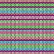 Royalty-Free Stock Vector Image: Style Seamless Color Knitted Pattern