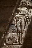 Baixo-relevo egípcio antigo — Foto Stock