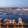 Boats at Marina in harbour — Stock Photo #9455562