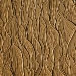 Tree-type texture on the sand beach — Stock Photo