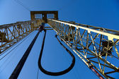 Drilling derrick — Stock Photo