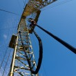 Stock Photo: Drilling derrick