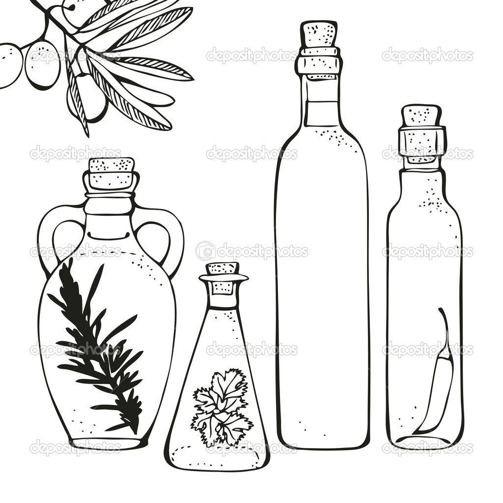 Free coloring pages of shampoo bottle
