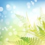 Spring vitality — Stock Vector