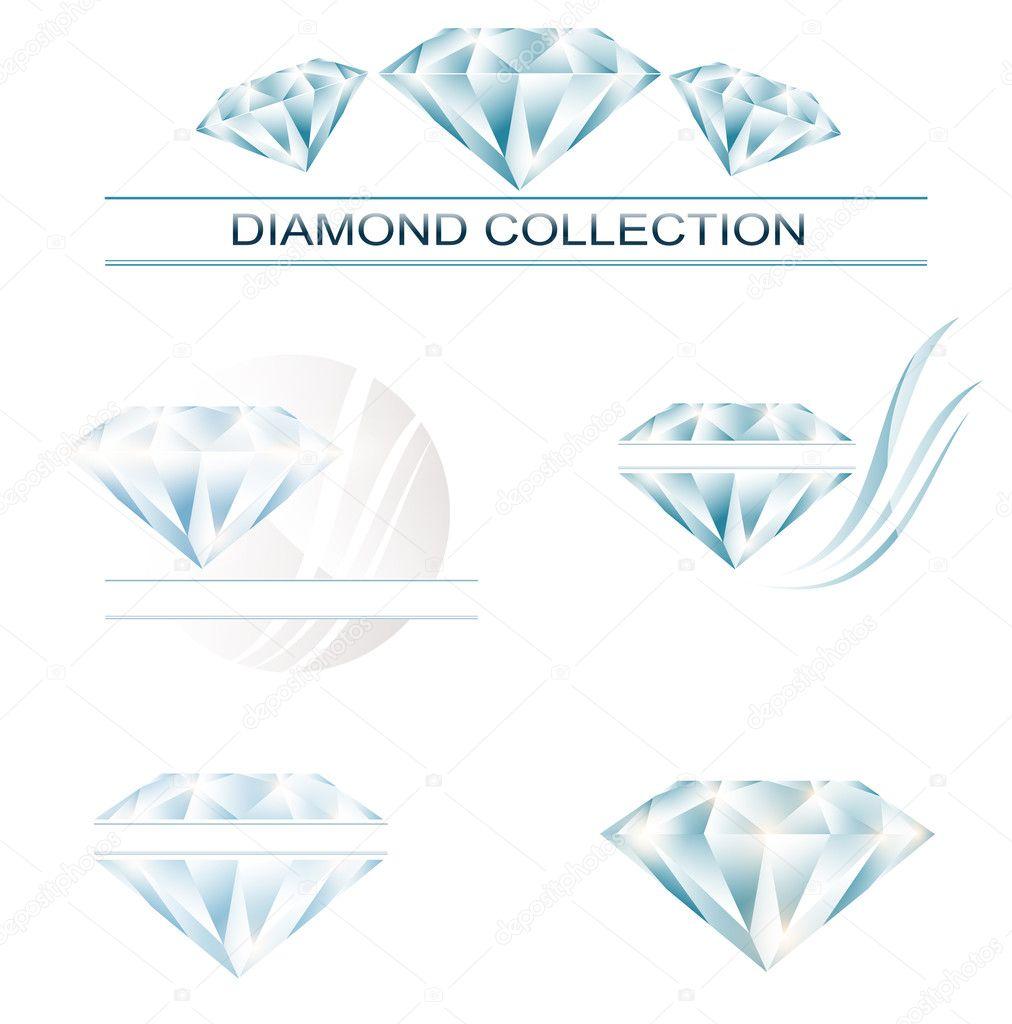 钻石收藏 — 图库矢量图像08