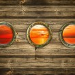 Portholes - Stock Photo