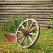 Wheel and plough — Stock Photo #8642032
