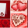Valentine`s day collection - Stockfoto