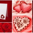 Valentine`s day collection - 图库照片