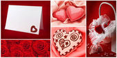 Valentine`s day collection — Stock Photo