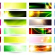 Royalty-Free Stock Vector Image: Web banner set