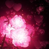 Valentine `s, dag, achtergrond — Stockvector