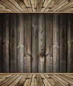 Wooden interior — Stock fotografie