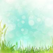 Wiosna lub lato łąka — Wektor stockowy