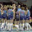 Volleybal team Dynamo(MSC) - Stock Photo
