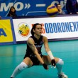 Svetlana Kryuchkova. Libero of Dynamo Moscow volleyball team — Stock Photo #10059694