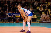 Jordan Larson(10), Dynamo Kazan team — Stock Photo