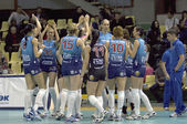 Volleybal team Dynamo(MSC) — Stock Photo