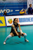 Svetlana Kryuchkova. Libero of Dynamo Moscow volleyball team — Stock Photo